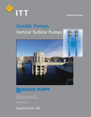 Goulds pumps vertical turbine pumps