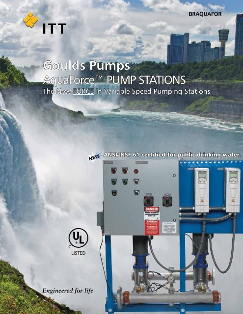 Goulds Turnkey VFD Multipump Package Systems Product Brochure