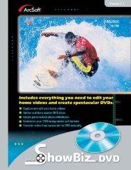 ArcSoft ShowBiz DVD 2.1 Manual