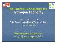 Rolf Nordstrom - South Dakota Public Utilities Commission