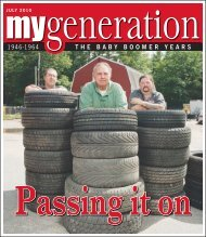 My Generation July 2010 - Keep Me Current