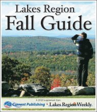 Lakes Region Fall Guide - Keep Me Current