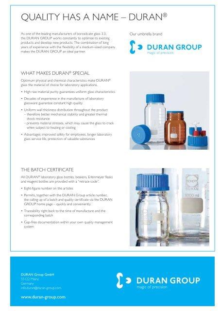 DURAN 25 851 2X Filter Crucible 30 ml Capacity Pack of 10