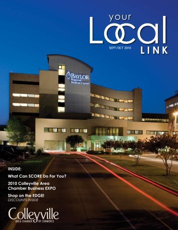 INSIDE: What Can SCORE Do For You? 2010 Colleyville Area ... - Net