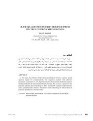 Saleh A. Alshebeili, Blind Equalization of Direct Sequence Spread ...
