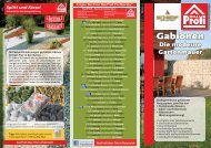Gabionen-Folder - Bauprofi