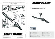 MontBlanc BARRACUDA - Mercateo