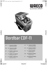 Bordbar CDF-11 - Dometic Australia