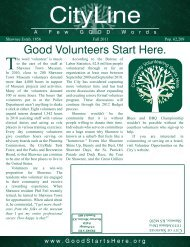 Good Volunteers Start Here. - City of Shawnee