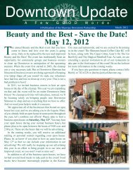 Beauty and the Best - Save the Date! May 12, 2012 - City of Shawnee