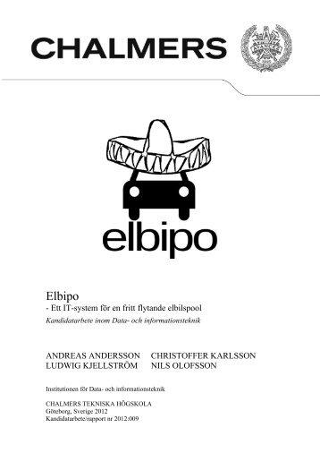 Elbipo - Chalmers tekniska högskola