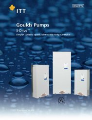 S-Drive Constant Pressure Controller for Submersible Pumps ...