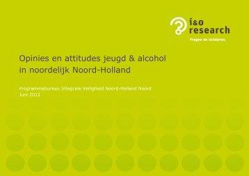 Opinies en attitudes jeugd & alcohol in noordelijk Noord-Holland