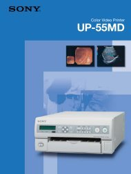 UP-55MD - Sony of Canada | Professional Solutions