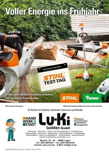 Voller Energie ins Frühjahr - Lu-Ki
