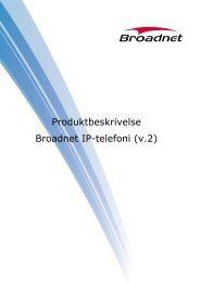 Produktbeskrivelse Broadnet IP-telefoni (v.2)