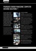 PANASONIC COMPUTER DOCKING SOLUTIONS - Page 4