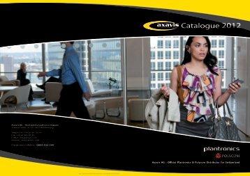 Catalogue 2012 - Axavis AG