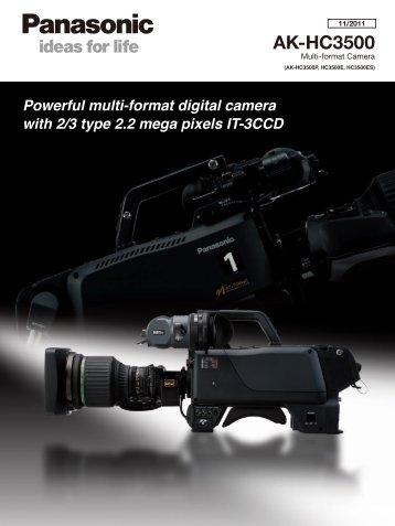 SP-HC3500PE2.pdf................. - Panasonic Business