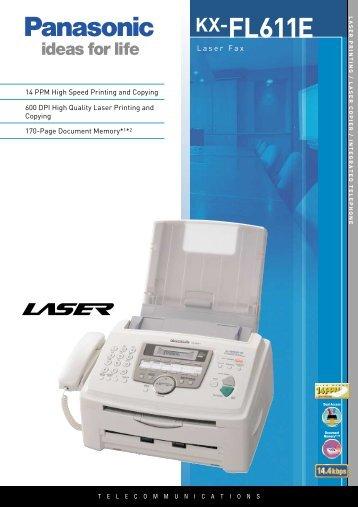 KX-FL611E - Panasonic Business