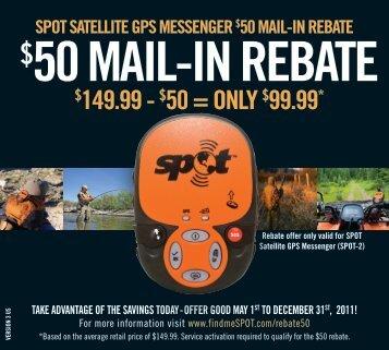 50 mail-in rebate - SkyGeek.com