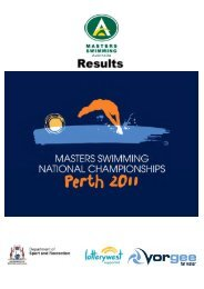 Results – 2011 National Finals