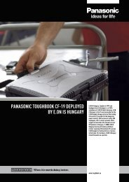 panasonic toughbook cf-19 deployed by e.on is hungary