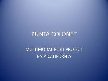 Punta Colonet: Multimodal Project in Baja California