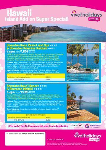 Hawaii - e-Travel Blackboard