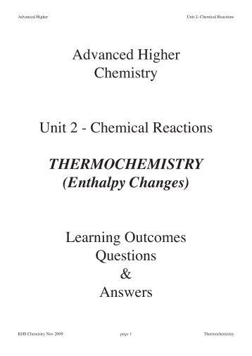 Thermochemistry Webquest Worksheet Quia