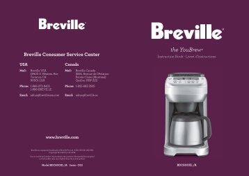 the YouBrew® - Breville