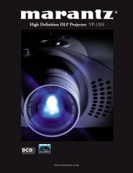High Definition DLP Projector VP-12S3 - One Call