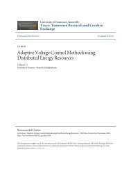 Adaptive Voltage Control Methods using Distributed Energy ...