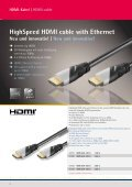 HighSpeed HDMI cable with Ethernet - Wentronic - Seite 3