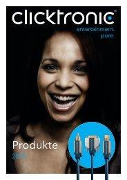 Clicktronic Katalog 2013 - Wentronic
