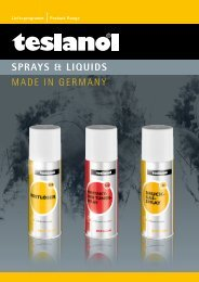download teslanol Katalog - Wentronic