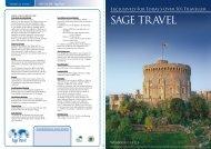 SAGE TRAVEL - e-Travel Blackboard