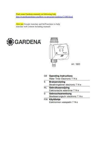 noma 5 1 1 thermostat manual