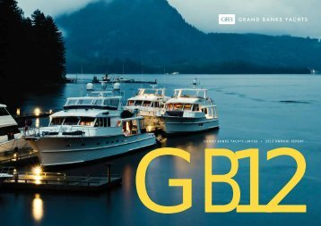 Annual Report - Grand Bank Yachts