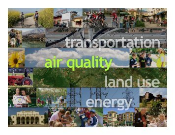Clean Air, Clean Energy, Clean Transportation, Making the ...