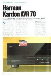 arman Kardon AVR 70 - RMS.pl
