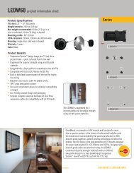 Series LEDW60 product information sheet - RMS.pl