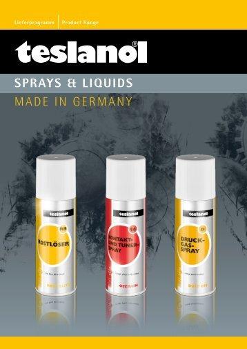 download teslanol Katalog - Wentronic