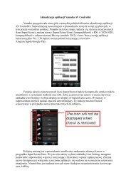 Aktualizacja aplikacji Yamaha AV Controller Yamaha ... - RMS.pl