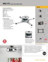 Series WM3-PJT product information sheet - RMS.pl