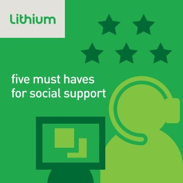 Five Must Haves for Social Support - Lithium