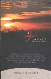 Untitled - Impact Christian Fellowship