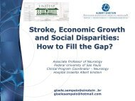Stroke, Economic Growth and Social Disparities: How to Fill the Gap?