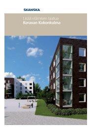 Lisää elämisen laatua Keravan Kokonkulma - Skanska - SmartPage