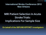 R equired S ample S ize Per Treatment Arm Reperfusion Rate With ...